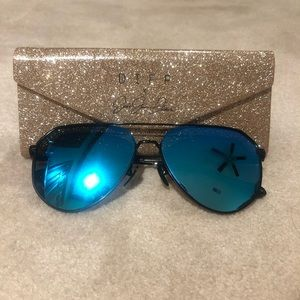 Diff Eyewear Accessories - Jessie James Decker Blue Sunglasses